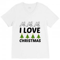 love christmas V-Neck Tee | Artistshot