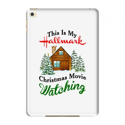 This Is My Hallmark Christmas Movie Watching Ipad Mini 4 Case Designed By Amber Petty