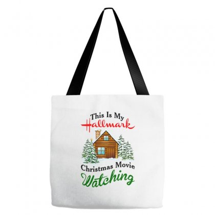 This Is My Hallmark Christmas Movie Watching Tote Bags Designed By Amber Petty