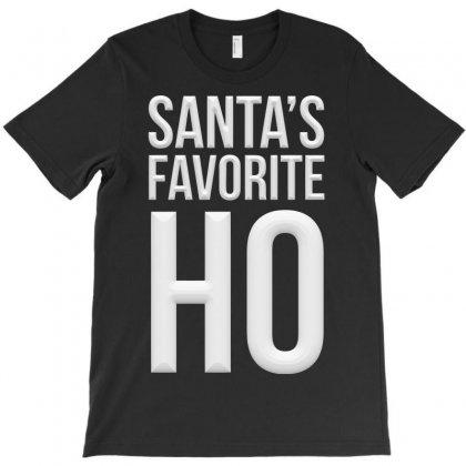 Santa's Favorite Ho T-shirt Designed By Igun