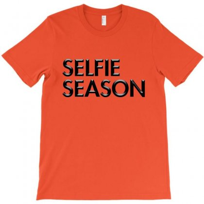Selfie Season T-shirt Designed By Igun