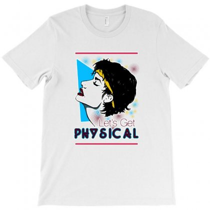 Let's Get Physical T-shirt Designed By Balqis Tees