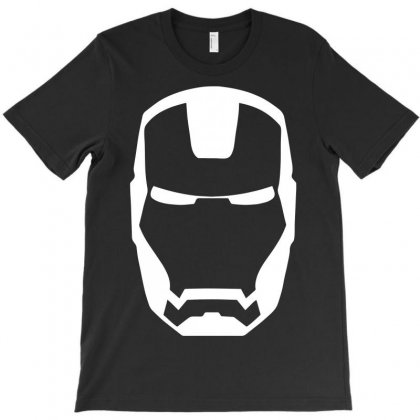Iron Man Mask T-shirt Designed By Rahmatika