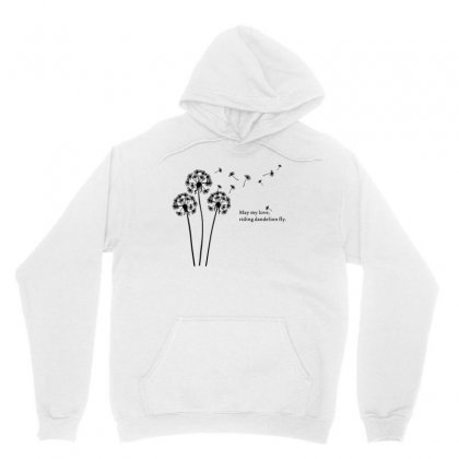 Dandylion People Flight Unisex Hoodie Designed By Ahmadjufriyanto