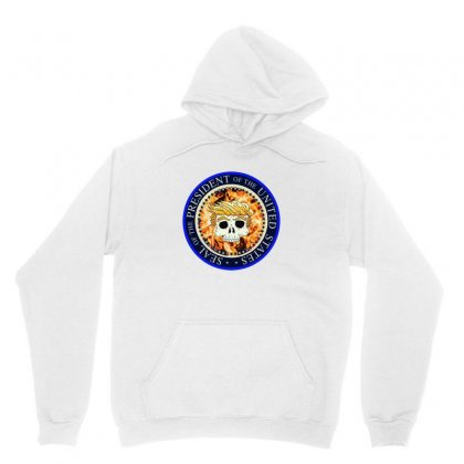 Fake Seal Of The Usa Unisex Hoodie Designed By Ahmadjufriyanto