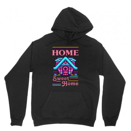 Home Sweet Home Mermaid Series Exterior Unisex Hoodie Designed By Balqis Tees
