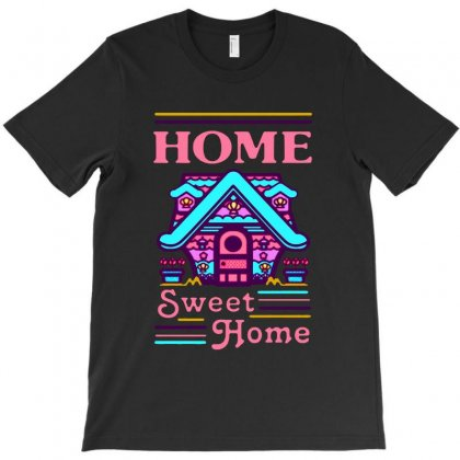 Home Sweet Home Mermaid Series Exterior T-shirt Designed By Balqis Tees