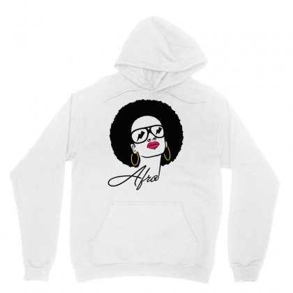 Afro Black Power Unisex Hoodie Designed By Blackstars