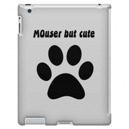 Cute Cat &mouser Ipad 3 And 4 Case Designed By Loody Design