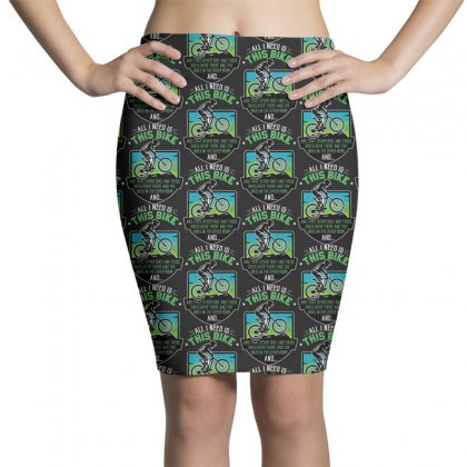 Funny Bike Lover Pencil Skirts Designed By Pinkanzee