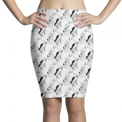 With You Wherever You Go Pencil Skirts Designed By Pinkanzee