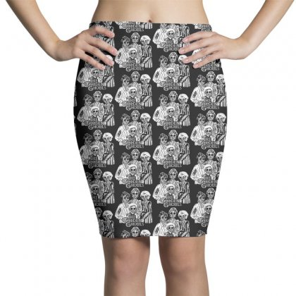 The Golden Ghouls Pencil Skirts Designed By Pinkanzee