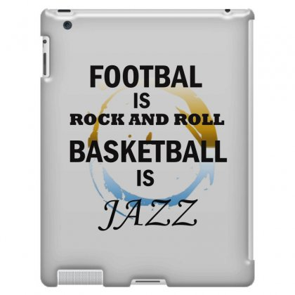 Football Or Basketball Ipad 3 And 4 Case Designed By Leila
