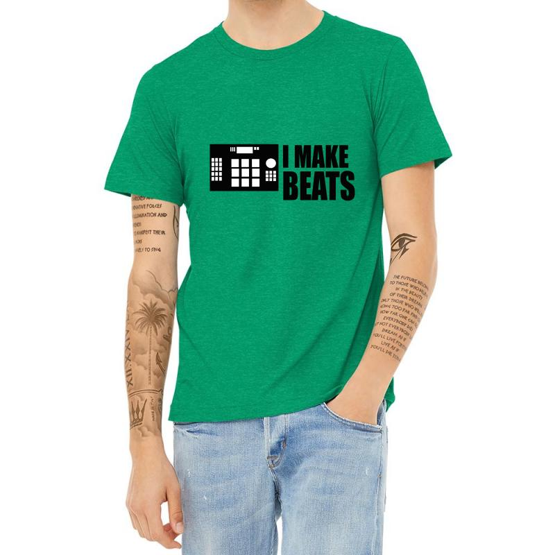 I Make Beats Heather T-shirt | Artistshot