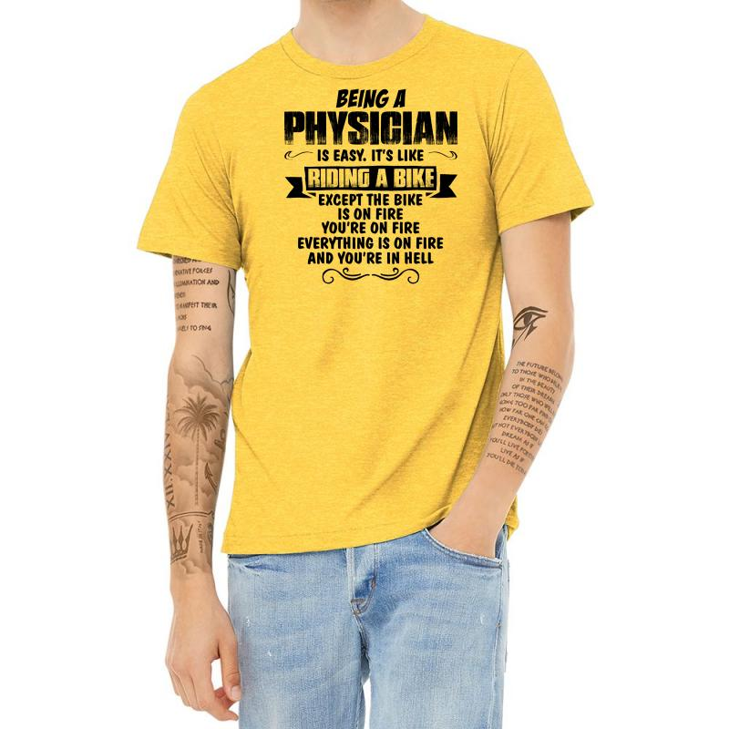Being A Physician Copy Heather T-shirt | Artistshot