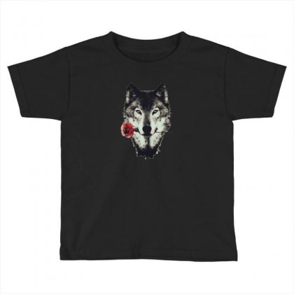 Loved Wolf Toddler T-shirt Designed By Zaina