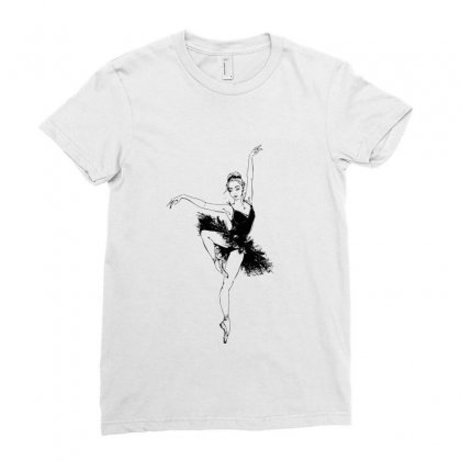 Ballet Moves Ladies Fitted T-shirt Designed By Tiococacola