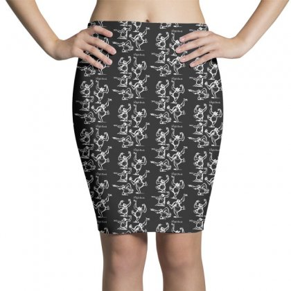 Jungle Book Sketched King Louie Pencil Skirts Designed By Pinkanzee