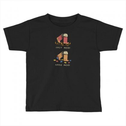 Easy Mode Toddler T-shirt Designed By Ahm4d