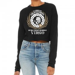 Virgo Women Cropped Sweater Designed By Tshiart