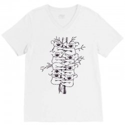 animals drawing marsupial australia V-Neck Tee | Artistshot