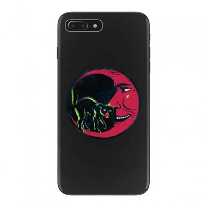 Horror Halloween Beistle Cat On The Moon Iphone 7 Plus Case Designed By Pinkanzee