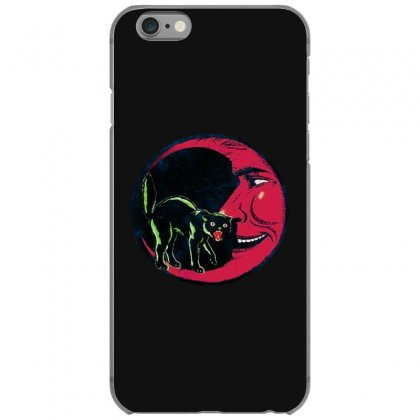 Horror Halloween Beistle Cat On The Moon Iphone 6/6s Case Designed By Pinkanzee