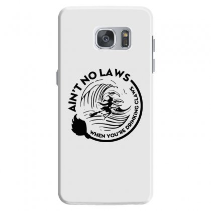 Halloween Witch Ain't No Laws You're Drinking Claws For Light Samsung Galaxy S7 Case Designed By Pinkanzee
