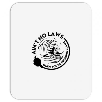 Halloween Witch Ain't No Laws You're Drinking Claws For Light Mousepad Designed By Pinkanzee