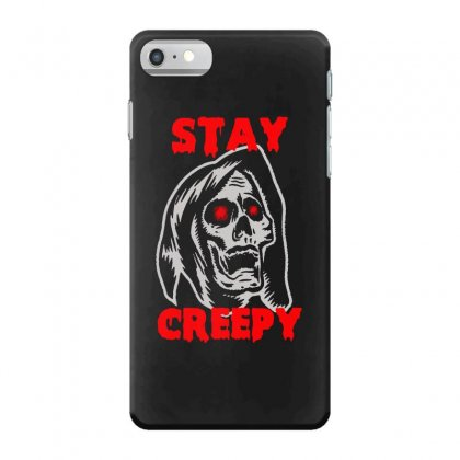 Halloween Skull Stay Creepy Iphone 7 Case Designed By Pinkanzee