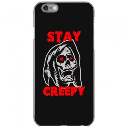 Halloween Skull Stay Creepy Iphone 6/6s Case Designed By Pinkanzee