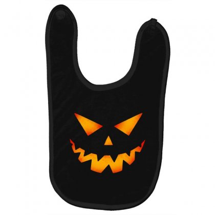 Halloween Pumpkin Baby Bibs Designed By Pinkanzee