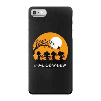 Halloween Moon Snoopy Hold Pumpkin With Woodstock Iphone 7 Case Designed By Pinkanzee