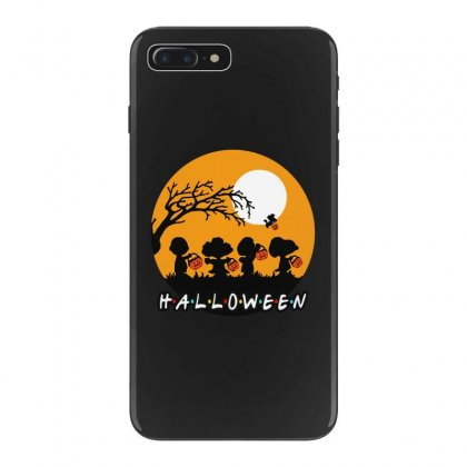 Halloween Moon Snoopy Hold Pumpkin With Woodstock Iphone 7 Plus Case Designed By Pinkanzee