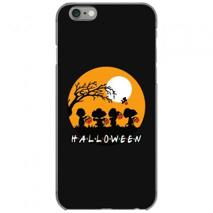 Halloween Moon Snoopy Hold Pumpkin With Woodstock Iphone 6/6s Case Designed By Pinkanzee