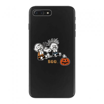 Halloween Kids Boo Snoopy Charlie Brown And Linus Van Pelt Frightened Iphone 7 Plus Case Designed By Pinkanzee