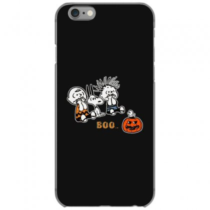 Halloween Kids Boo Snoopy Charlie Brown And Linus Van Pelt Frightened Iphone 6/6s Case Designed By Pinkanzee