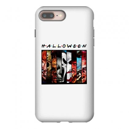 Halloween Horror Charaters Friends For Light Iphone 8 Plus Case Designed By Pinkanzee