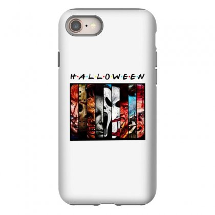 Halloween Horror Charaters Friends For Light Iphone 8 Case Designed By Pinkanzee