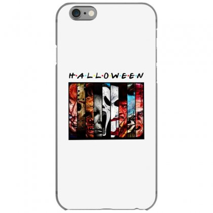 Halloween Horror Charaters Friends For Light Iphone 6/6s Case Designed By Pinkanzee