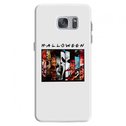Halloween Horror Charaters Friends For Light Samsung Galaxy S7 Case Designed By Pinkanzee