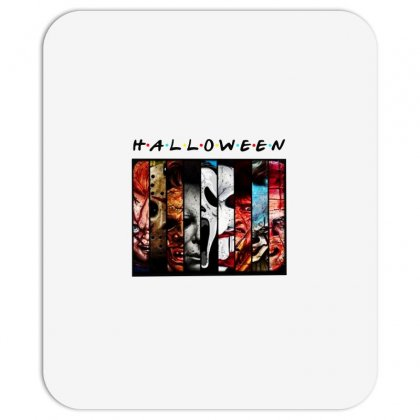 Halloween Horror Charaters Friends For Light Mousepad Designed By Pinkanzee