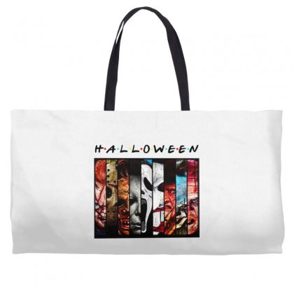 Halloween Horror Charaters Friends For Light Weekender Totes Designed By Pinkanzee