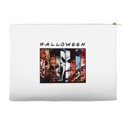 Halloween Horror Charaters Friends For Light Accessory Pouches Designed By Pinkanzee