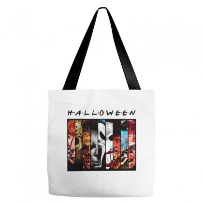 Halloween Horror Charaters Friends For Light Tote Bags Designed By Pinkanzee