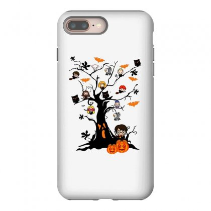 Halloween Harry Potter Tree Funny Iphone 8 Plus Case Designed By Pinkanzee