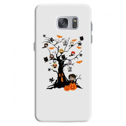 Halloween Harry Potter Tree Funny Samsung Galaxy S7 Case Designed By Pinkanzee