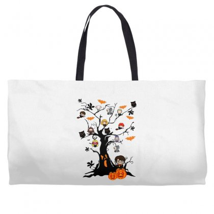 Halloween Harry Potter Tree Funny Weekender Totes Designed By Pinkanzee