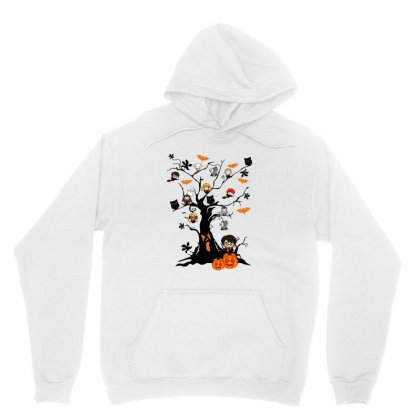 Halloween Harry Potter Tree Funny Unisex Hoodie Designed By Pinkanzee