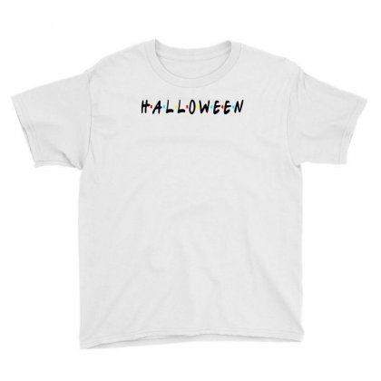 Halloween For Light Youth Tee Designed By Pinkanzee